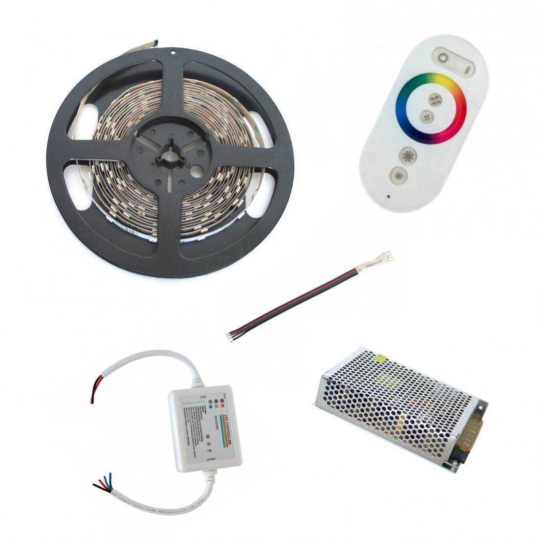 Pack ruban led rgb tactile fils 10m - Ruban led rgb ...