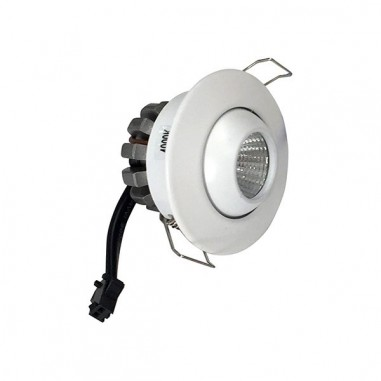 Mini spot LED Blanc Rond Encastrable 3W - 230V