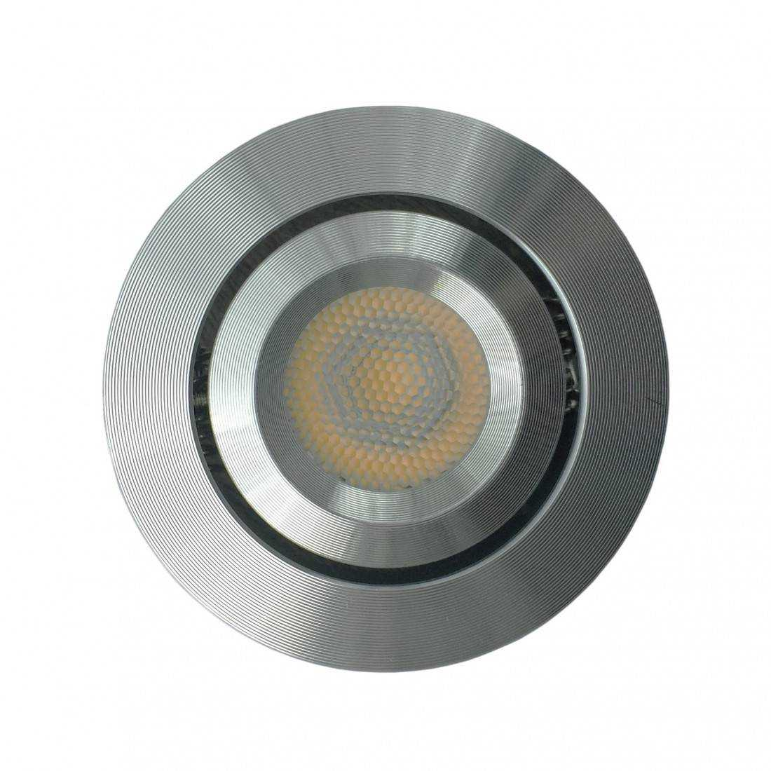 Mini spot led encastrable 3w 230v for Spot exterieur encastrable plafond