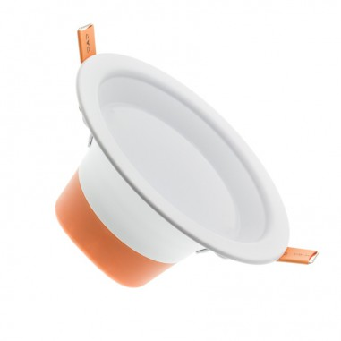 Spot LED encastrable fixe 90° 10W
